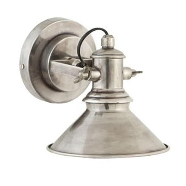 Lamper I Soveværelset - Kob rå v u00e6glampe med l u00e6kker stålfinish i fransk landstil og