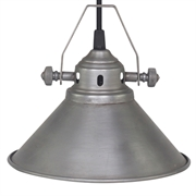 Loftlampe i antique zink